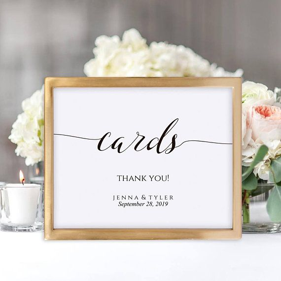 Cards Sign Wedding Cards Sign Card Table Sign Card Box Card Table Wedding Cards Sign Wedding Wedding Card Table Sign