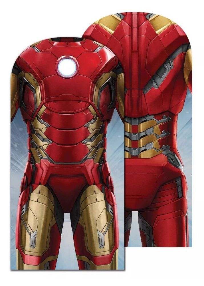 Iron Man Torso Suit Cover Garment Suit Carrier Marvel Novelty Licensed Gift    eBay