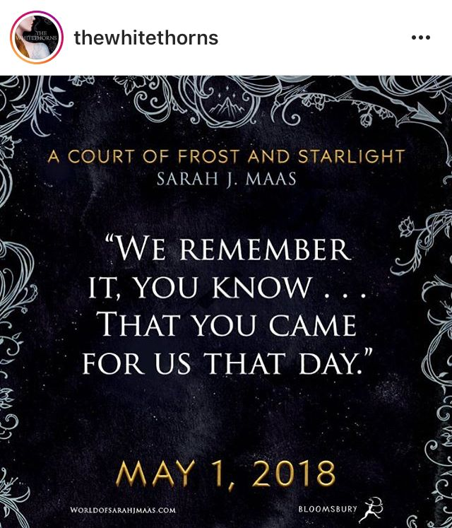 Can T Wait For Acofas Sarah J Maas Books A Court Of Mist And