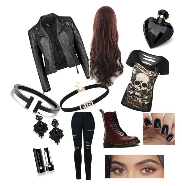 """""""Rock style never die"""" by labea02 on Polyvore featuring moda, Boohoo, Dr. Martens, Lipsy, Marc Jacobs e Tasha"""