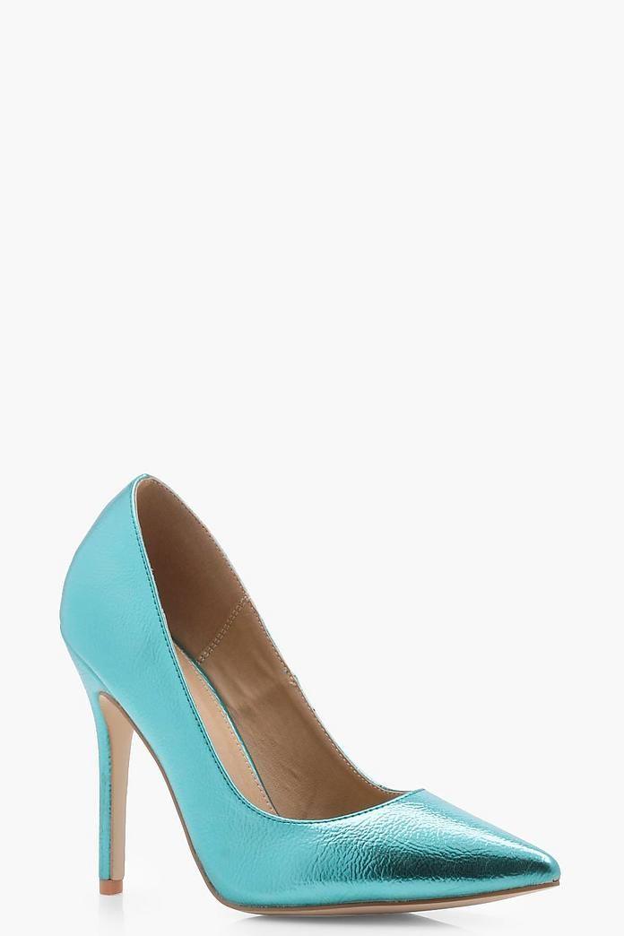Cameron Metallic Court Shoes
