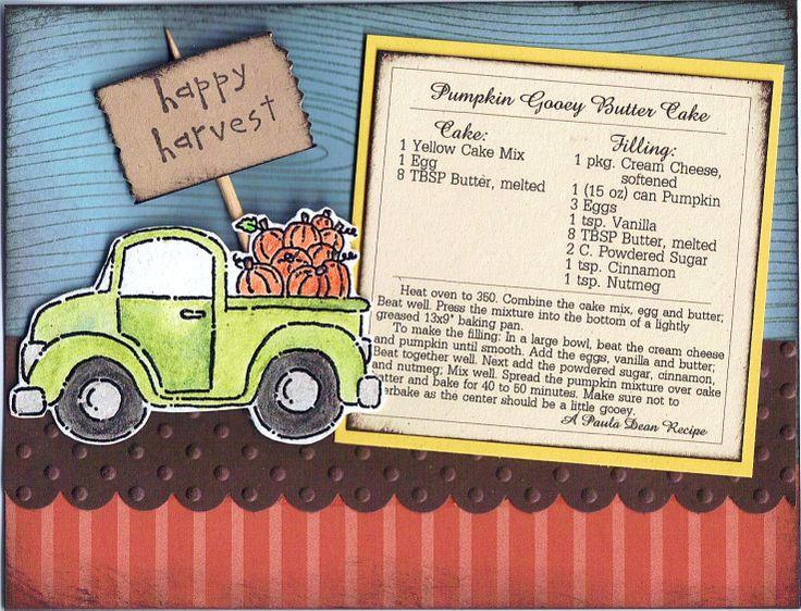 Loads of Love Recipe Card