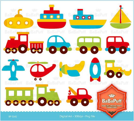 Digital Clip Art  Toys Personal and Small Commercial by BaBaPuff, $5.00