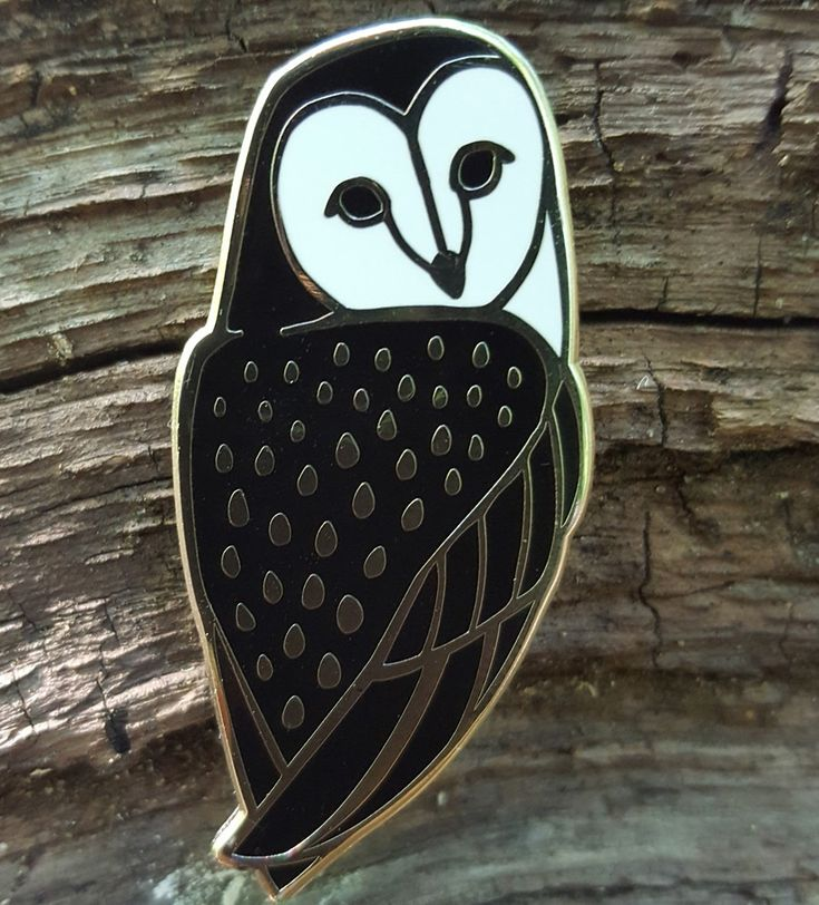 """1 3/4"""" hard enamel pin plated with bright nickel finish and backed with two metal clutches to prevent spinning and for stability."""
