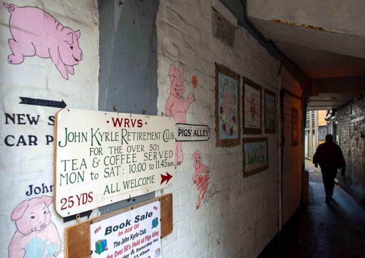 Pig alley.