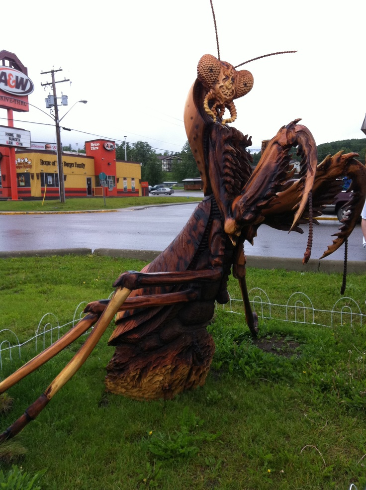Chetwynd bc canada chainsaw carving capital of the
