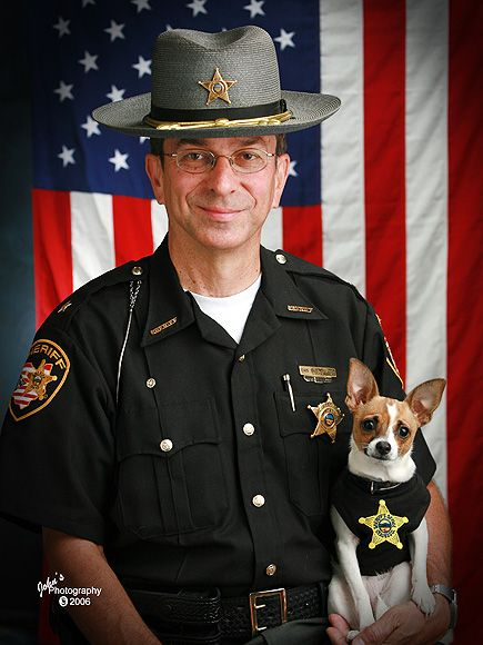 MIDGE: POLICE DOGThe Chihuahua-rat terrier mix may not look so tough, but the Guinness World Records holder – she's the smallest dog used for law enforcement – has earned credit for several narcotics-related arrests at the Geauga County Sheriff's Office in Ohio
