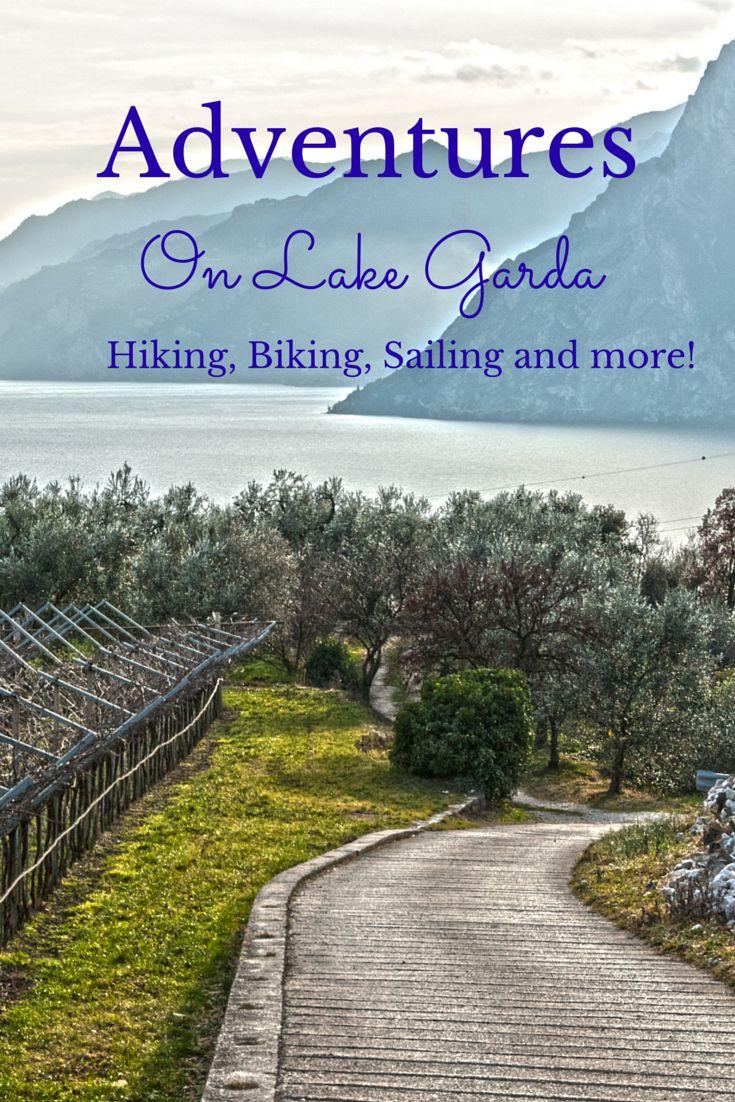 Adventures on the northern shore of Lake Garda