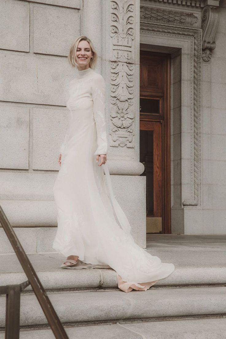 Unique Boho Lace Wedding Dress With Long Sleeves And High Neck By Australian L Et Sheath Wedding Dress Lace Turtleneck Wedding Dress Lace Wedding Dress Vintage [ 1104 x 736 Pixel ]