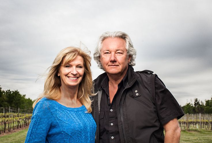 DONNA AND KARL SPARKES -  From grapes to world domination - pushing Nova Scotia wines higher