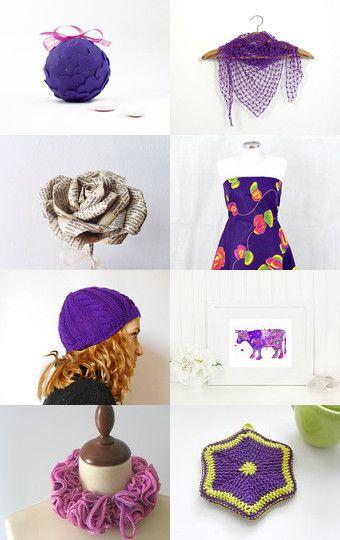 Purple by Giada Cortellini on Etsy--Pinned with TreasuryPin.com