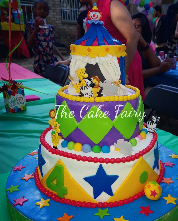 #circuscake #carnivalparty #caketime