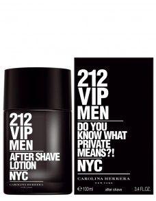 CAROLINA HERRERA 212 VIP Men After Shave Lotion 100ml #212viprose #212vip #212vipperfume #perfumes #fragrance #carolinaherrera #espana