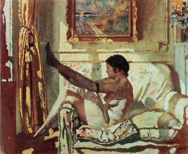 William Orpen, Sunlight, 1925