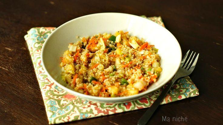 Ma Niche: Carrot Chili Pepper Quinoa Salad | Weekend Bites (formal ...