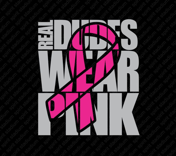 Breast Cancer Awareness Shirt, Real Dudes Wear Pink TShirt, Pink Out - You…
