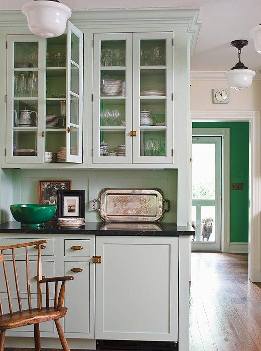 Mint Green Kitchen Paint