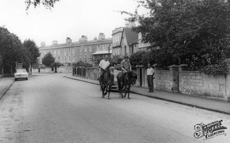 Church Road, Combe Down c1965