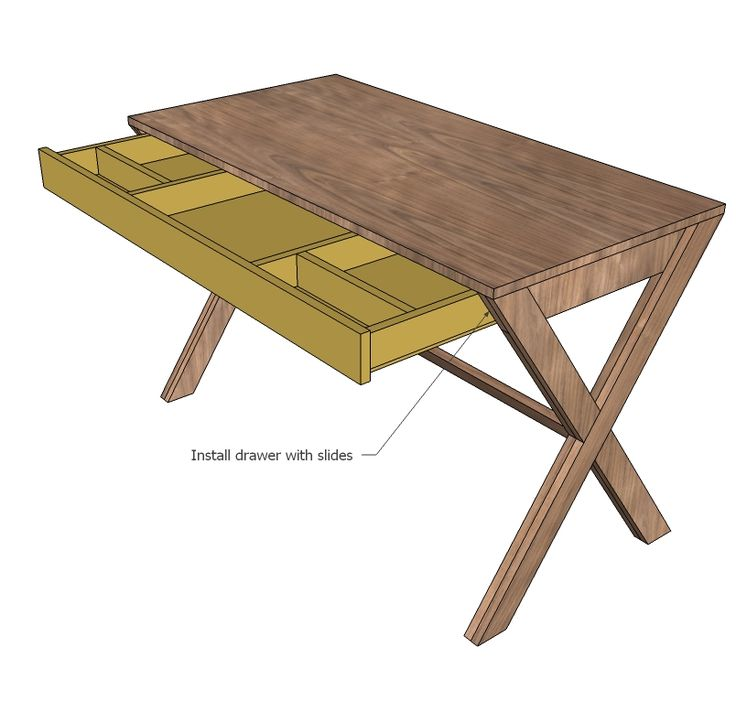 Best 25 Desk Plans Ideas On Pinterest Woodworking Desk Plans Build A Desk And Diy Computer Desk