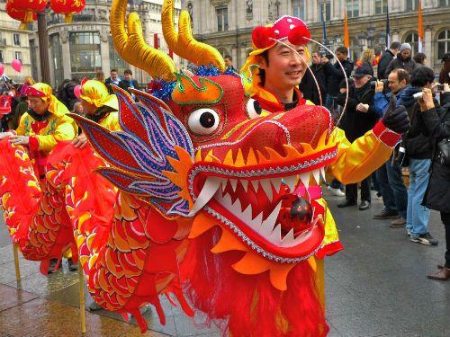 Chinese Folk Dances: Lion, Peacock And Dragon Dance