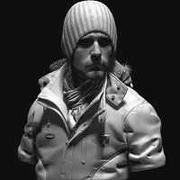 military guy by Arash Beshkooh on ArtStation.