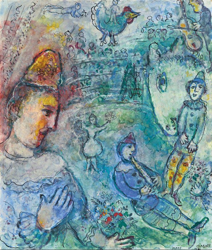 Les 112 meilleures images du tableau artiste chagall sur for Chagall tableau
