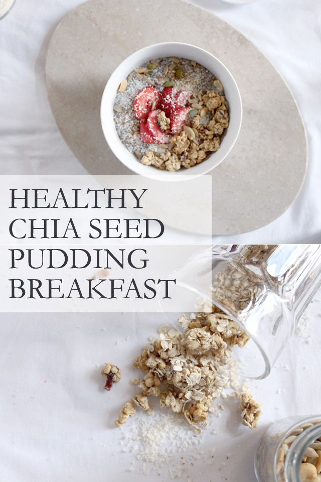 RECIPE FOR: Healthy and Simple Vegan Breakfast, Chia Seed Pudding! So delicious and nutritious!!