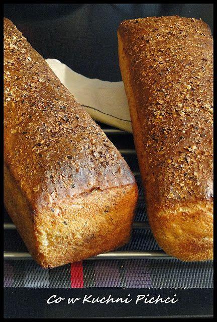 CO W KUCHNI PICHCI : Najprostszy chleb domowy bez zagniatania