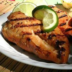 Honing-limoen kip van de barbecue @ allrecipes.nl