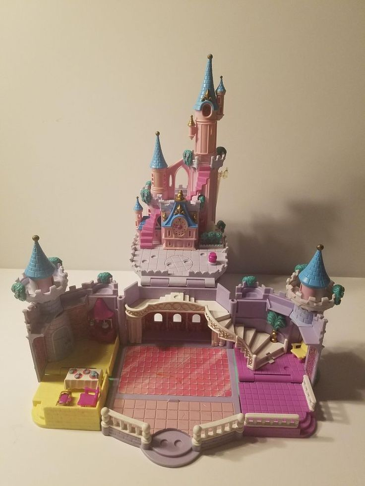 Bluebird Polly Pocket 1995 Disney Enchanted Cinderella Light-up Castle | Dolls & Bears, Dolls, By Brand, Company, Character | eBay!