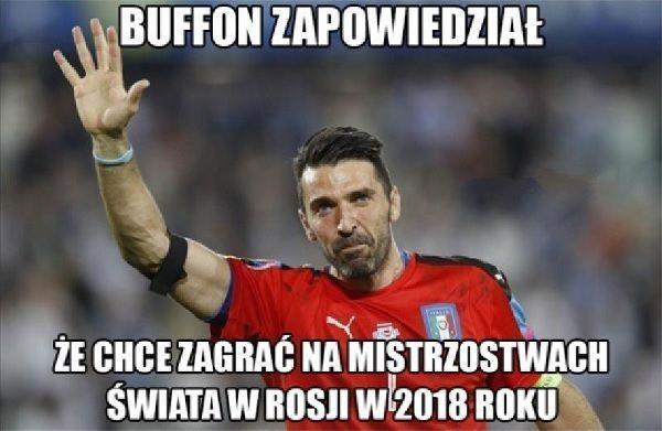 Buffon wyraził chęć gry do 2018 roku w barwach narodowych • Gianluigi Buffon być może zagra na Mistrzostwach Świata w 2018 roku >> #buffon #football #soccer #sports #pilkanozna