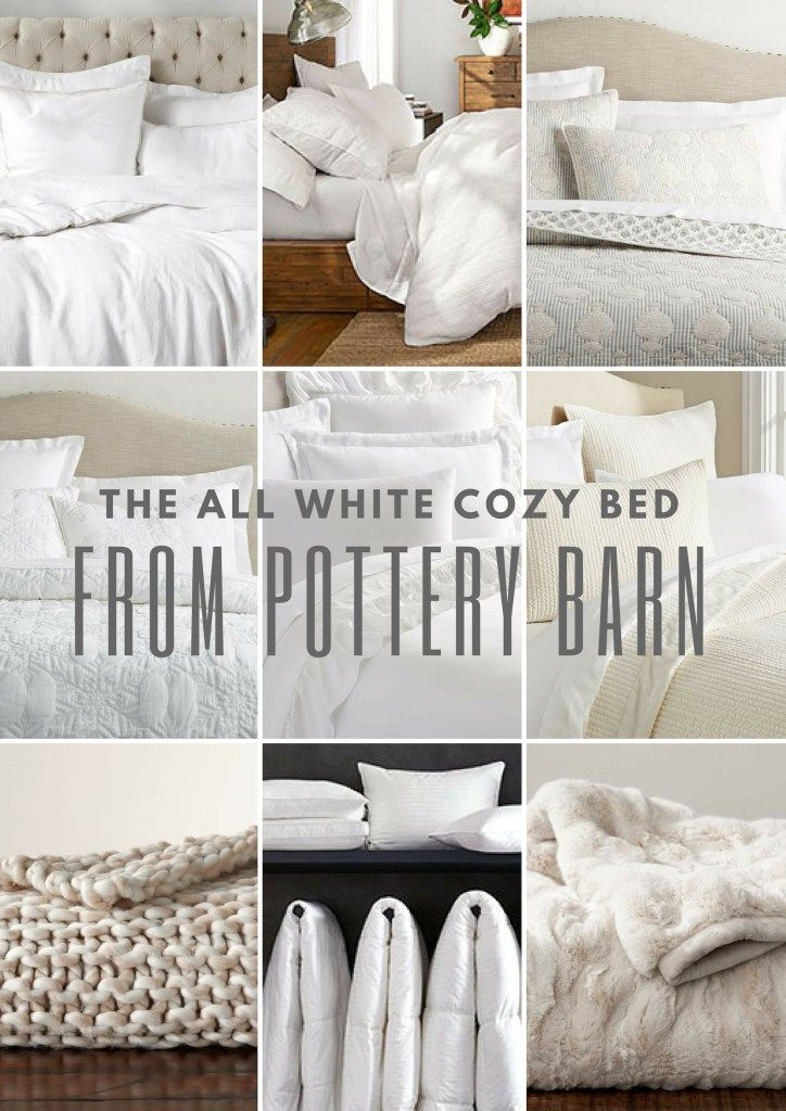 The All White Bed White Bedding Bed Bed Linen Design