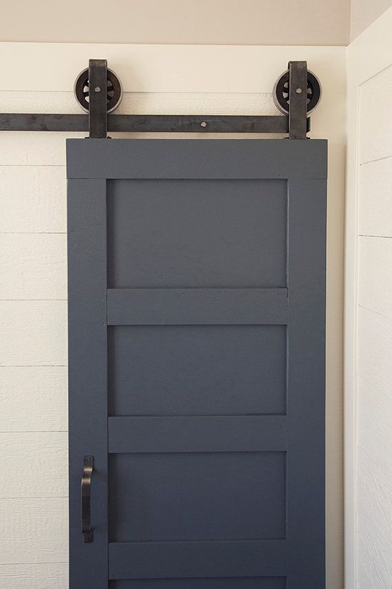 The Artisan  Vintage Top Mount Sliding Barn by NWArtisanHardware, $189.99; definitely going with site after I find the perfect door.