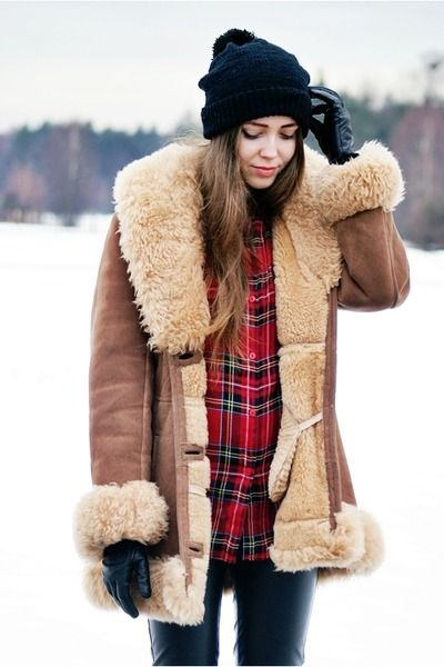 If we ever get stationed in Alaska I will remake this look and wear it everyday. What do I care? I don't know anyone in Alaska :)