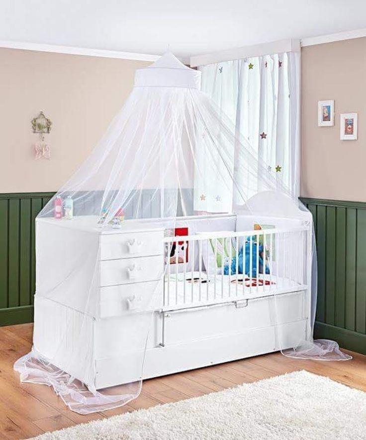 Bebek odası , buyuyen beşik, baby crib , cradle