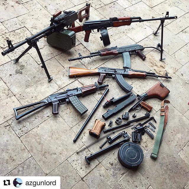 #Repost @azgunlord  ・・・  Kalash Lyfe ♀️  •  I think I need an AK105... •    ____________  @azmachinegunord #azmgo #combloc #kalash #kalashnikov #kalashlife #rpd #rpk #pkm #ak47 #aks74u #tantal #russian #bulgarian #polish #guns #weapons #machinegun #fullauto