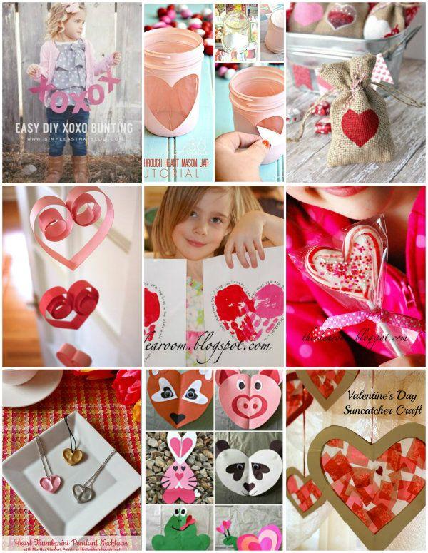 Valentine's Day Crafts   theidearoom.net