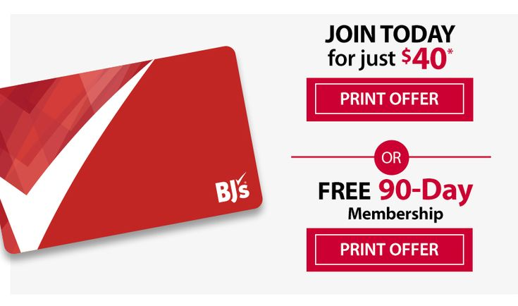 Have you exceeded your Free Trial Memberships to BJ's? If so take the next step and pay for a FULL year membership and use the coupon below to save yourself some cash. Should You Give it a Try Did you know BJ's Wholesale Club is the only club to accept manufacturer coupons? It's true. AND,...Read More »
