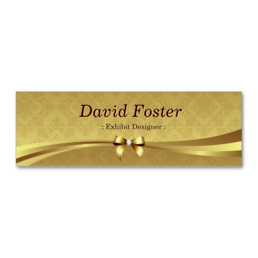 186 best exhibit designer business cards images on pinterest exhibit designer shiny gold damask business card template fbccfo Image collections