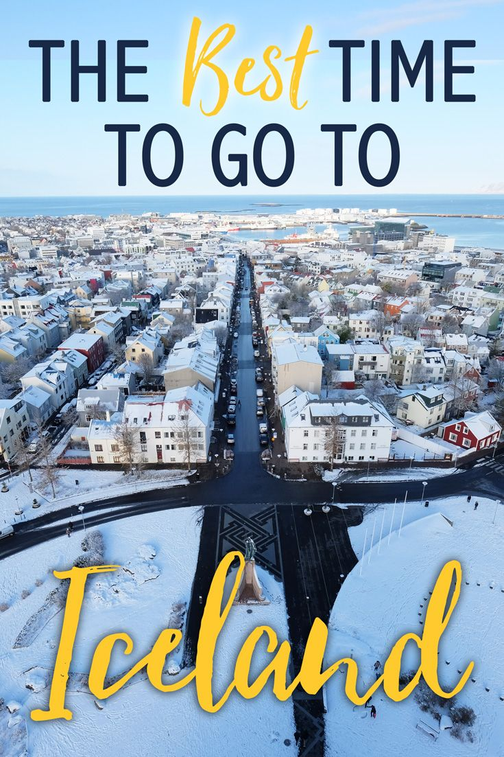 When is the best time to go to Iceland? That's a difficult question to answer. Each season has its perks depending on what you want to see, do and experience! Iceland is the perfect destination for a first time solo traveler to a family looking to road trip around the island. With friendly locals, stunning scenery and a lively tourism scene, you should experience Iceland at least once in your lifetime. Here is the run down on the best time to go to Iceland!