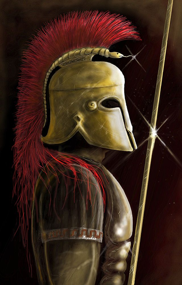Greek Soldier by Etyfa on DeviantArt