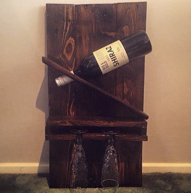 Display Wine Rack - https://www.facebook.com/RestoredbyGil