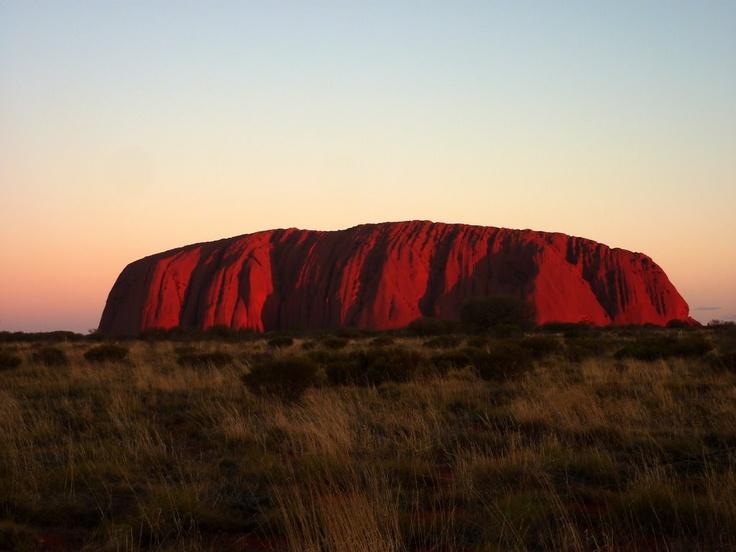 Outback Australia - Uluru by sunset