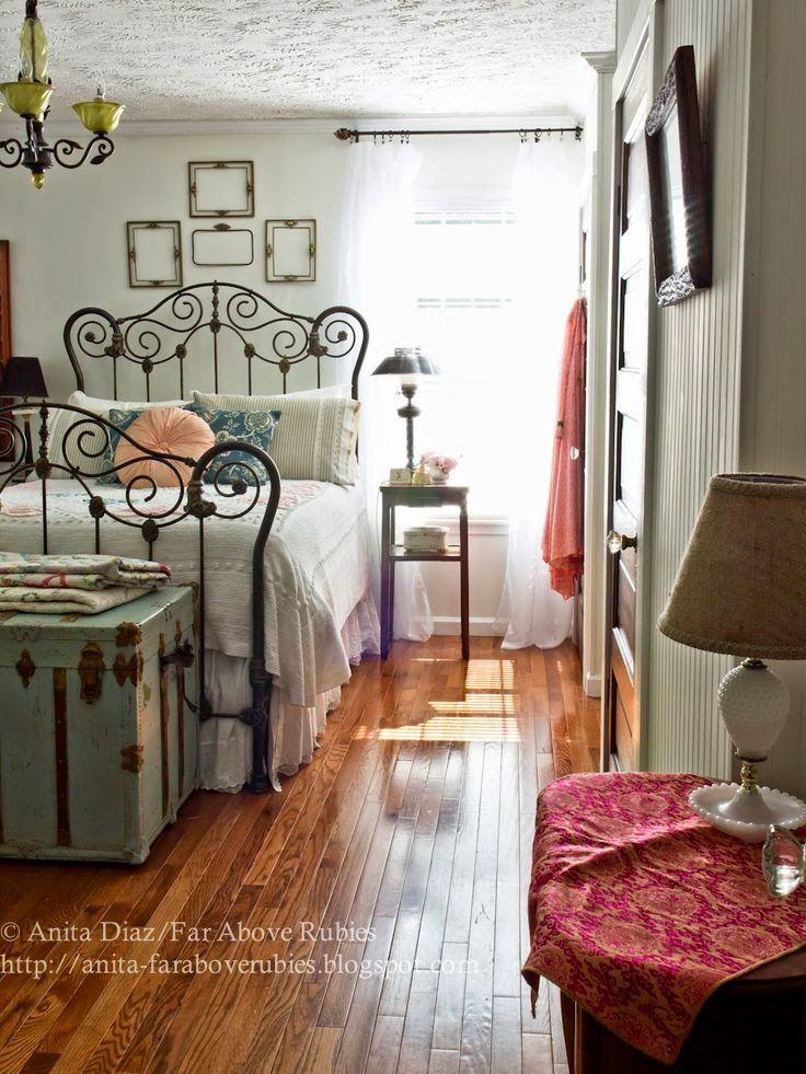 Tips de decoraci n de dormitorios vintage deco hogar - Decoracion hogar vintage ...