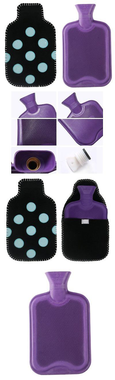 Hot Water Bottles and Covers: Cuddleme 2L Hot Water Bag W Matching Soft Fleece Cover, Natural Rubber Hottie -> BUY IT NOW ONLY: $30.17 on eBay!
