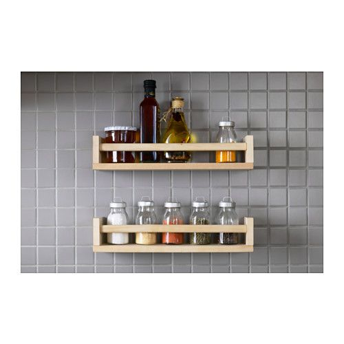 These great shelves have a many different uses Spice Racks in the kitchen Book rack in the kids bedrooms Turn upside and hang scarves and acessories Bathroom sh