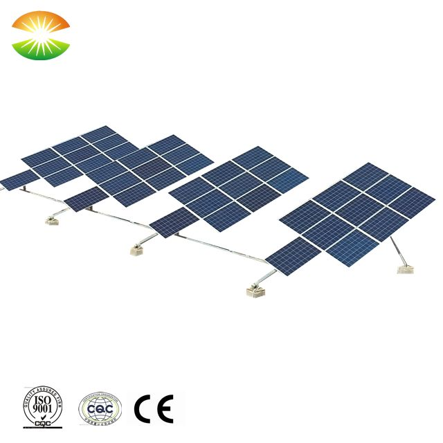 Solar Roof Mounting System 12kw Tilted Single Axis Solar Sun Tracker Roof Solar Panel Solar Tracker Solar Roof