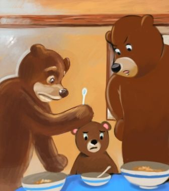 Image detail for -Goldilocks and the Three Bears | read-childrens-stories