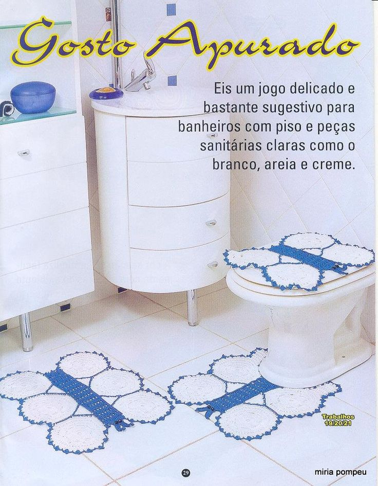 Set De Baño En Crochet: lucytablogspotmx/2011/04/revistas-de-juegos-de-bano-en-crochethtml