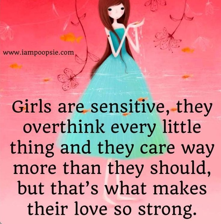 Quotes About Sensitive Girls. QuotesGram
